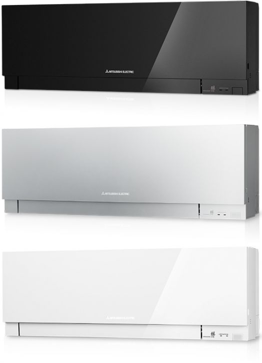 Mitsubishi design msz ef ve3 r410a for Air climatise mural