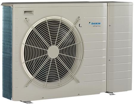 Daikin altherma basse temp rature monobloc pompe chaleur - Pompe a chaleur monobloc interieur ...