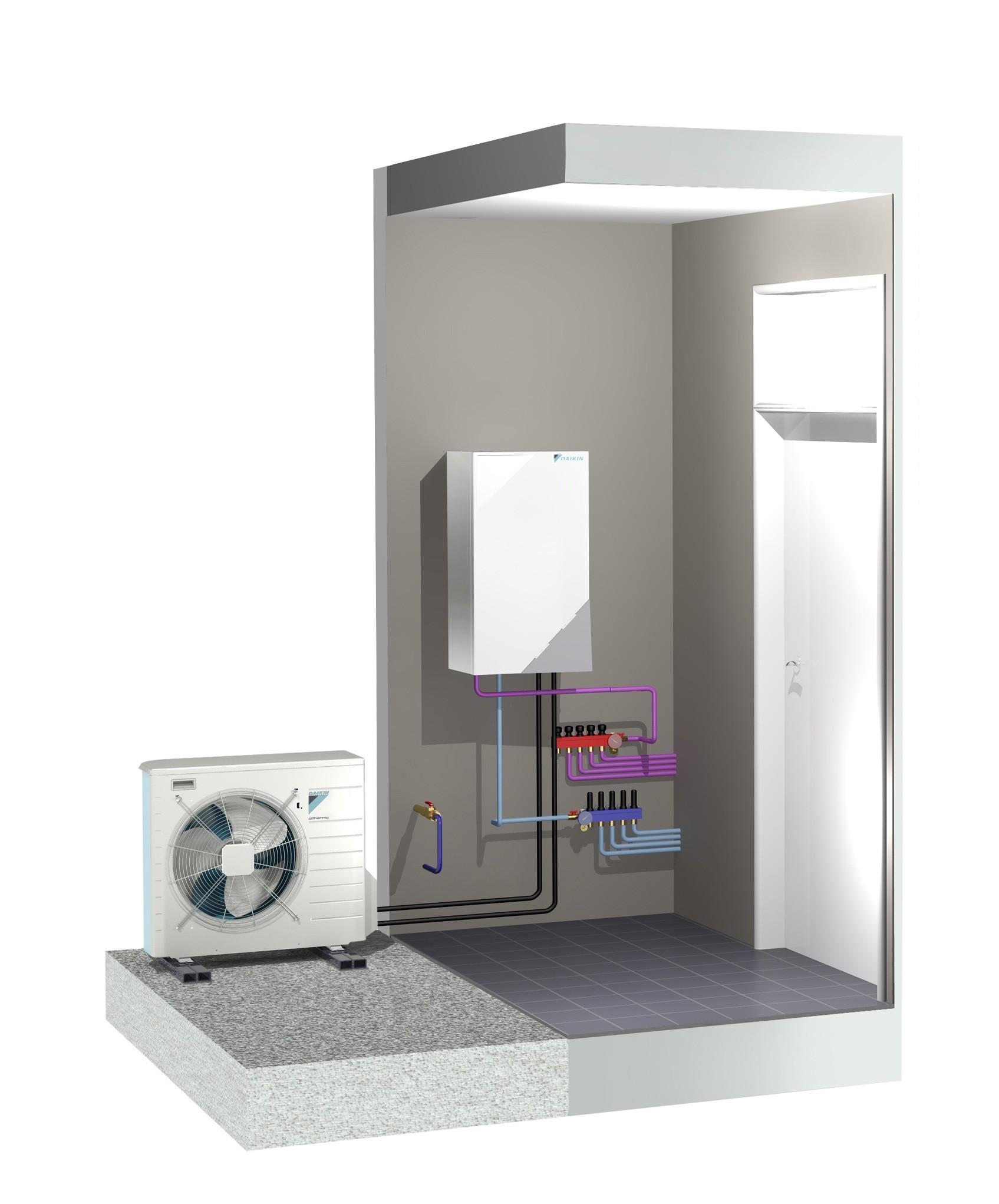 daikin altherma reversible pompe chaleur. Black Bedroom Furniture Sets. Home Design Ideas